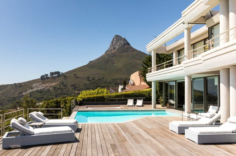 Geneva Sunsets • Luxury 6 bedroom villa accommodation in Camps Bay • CTV