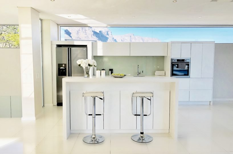 Penthouse Kitchen Frontal View