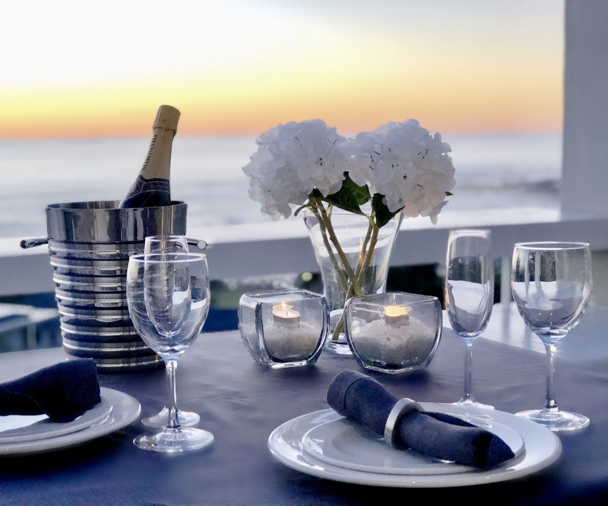 Penthouse Outdoor Dining Details