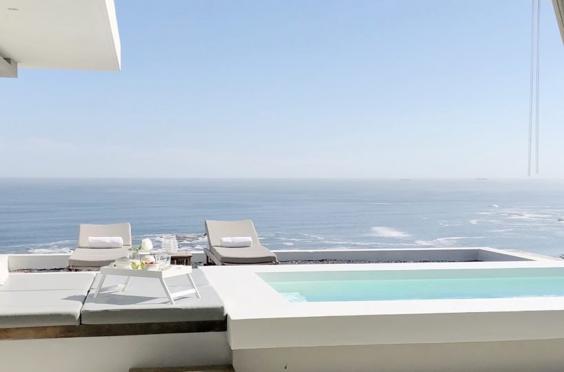 Penthouse Terrace Loungers, Pool, Daybed